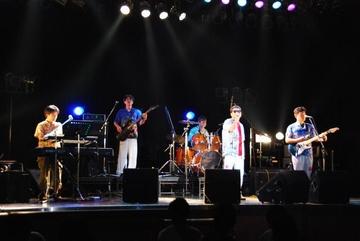 ライブのステージ