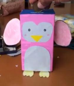 ペンギン貯金箱